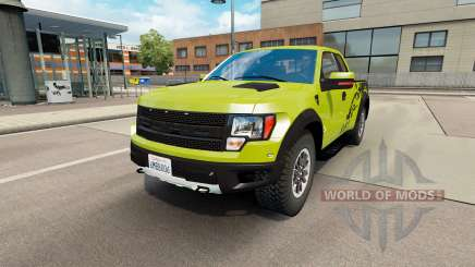 Ford F-150 SVT Raptor v1.6 для Euro Truck Simulator 2