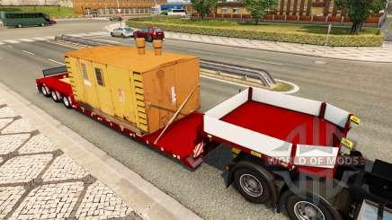 Doll Vario 3-axle v4.1 для Euro Truck Simulator 2