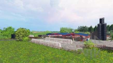 Kirriemuir farm для Farming Simulator 2015