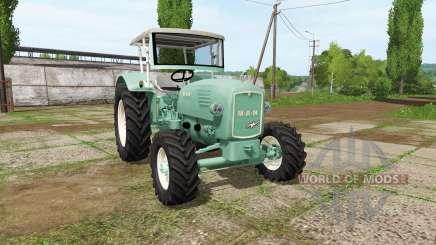 MAN 4p1 1960 v2.1 для Farming Simulator 2017
