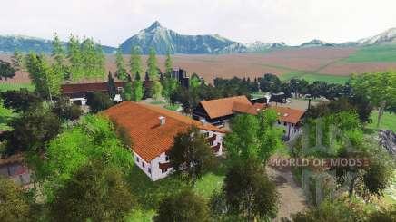 Ammergauer Alpen для Farming Simulator 2015