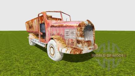 Oil truck damaged для Farming Simulator 2015