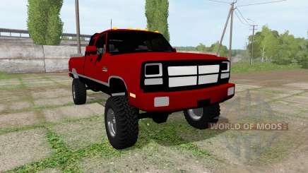 Dodge Power Ram для Farming Simulator 2017