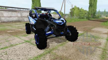 Can-Am Maverick X3 police для Farming Simulator 2017
