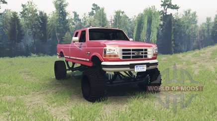 Ford F-350 1995 для Spin Tires