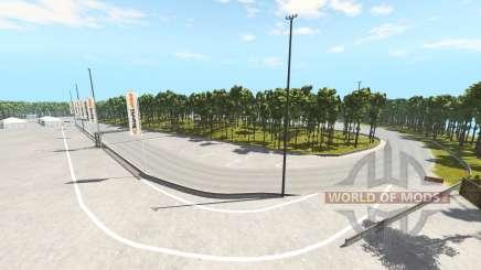 Crecy racetrack для BeamNG Drive