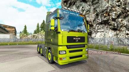 MAN TGA v1.2 для Euro Truck Simulator 2
