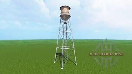 Tall water tower для Farming Simulator 2015
