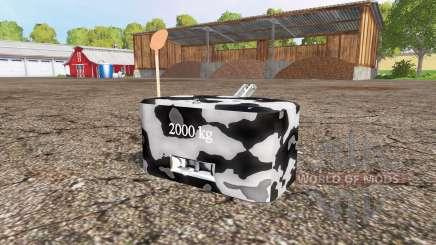 Weight v1.1 для Farming Simulator 2015