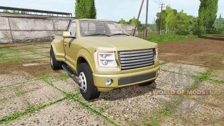 Lizard Pickup TT single cab dually для Farming Simulator 2017
