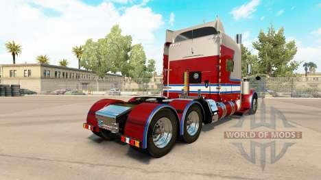 Скин 806 Trucking на тягач Peterbilt 389 для American Truck Simulator