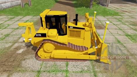 Caterpillar D7R v1.1 для Farming Simulator 2017