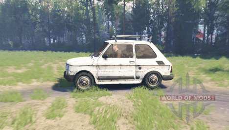 Fiat 126p для Spin Tires