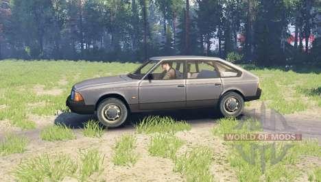 Москвич 2141 для Spin Tires