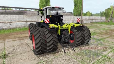 CLAAS Xerion 5000 v1.1.8 для Farming Simulator 2017