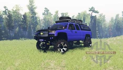 Chevrolet Silverado 2006 v2.1 для Spin Tires