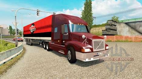 American truck traffic pack v1.3.2 для Euro Truck Simulator 2