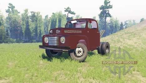 Ford F-6 1950 Stubby Bob для Spin Tires