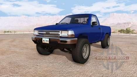 Toyota Hilux v2.0.1 для BeamNG Drive