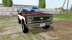 Chevrolet K5 Blazer 1973 для Farming Simulator 2017