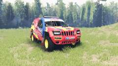 Jeep Grand Cherokee (WJ) Superwolf v1.01 для Spin Tires