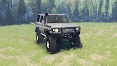 Toyota Land Cruiser 70 v3.01 для Spin Tires