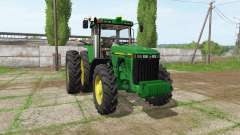 John Deere 8410 v1.0.1 для Farming Simulator 2017