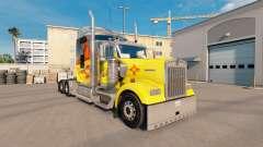 Скин New Mexico на тягач Kenworth W900
