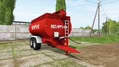 F.lli Zaffrani ZF 140 для Farming Simulator 2017