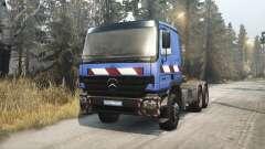 Mercedes-Benz Actros 2646 для Spin Tires