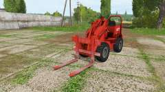 Weidemann 1502DR v2.1 для Farming Simulator 2017