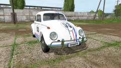 Volkswagen Beetle 1966 v2.0 для Farming Simulator 2017