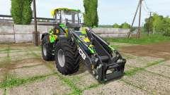 JCB 435S camo edition v1.2 для Farming Simulator 2017