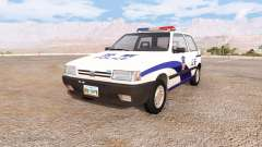 Fiat Uno chinese police
