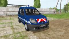 Renault Kangoo Gendarmerie для Farming Simulator 2017