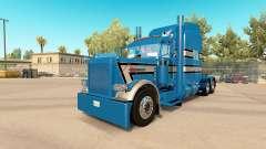 Скин GP Custom 3 на тягач Peterbilt 389