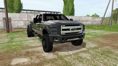 Ford F-350 Super Duty Crew Cab для Farming Simulator 2017