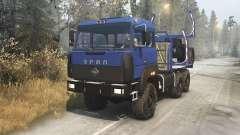 Урал 4320-3111-78 v1.3 для Spin Tires