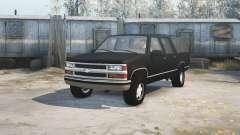 Chevrolet Suburban (GMT400) для MudRunner