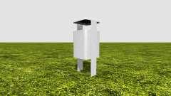 Trash can для Farming Simulator 2017