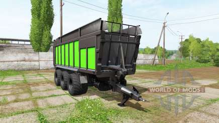 JOSKIN DRAKKAR 8600 black and green для Farming Simulator 2017