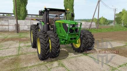 John Deere 6135R для Farming Simulator 2017