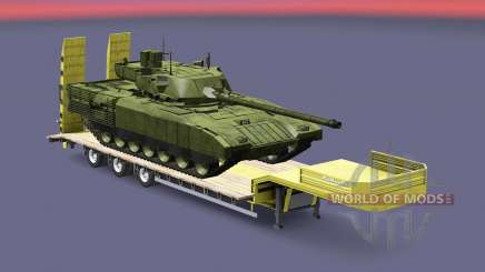 Military cargo pack v1.8 для Euro Truck Simulator 2
