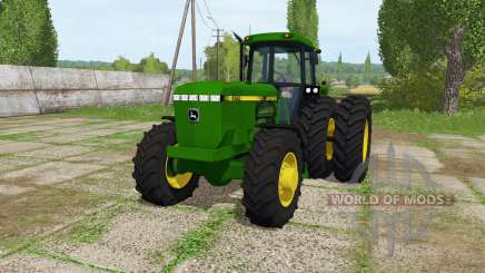 John Deere 4560 v1.2 для Farming Simulator 2017