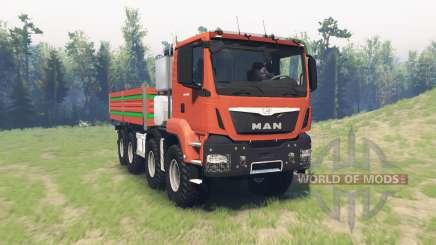 MAN TGS 41.480 v1.1 для Spin Tires