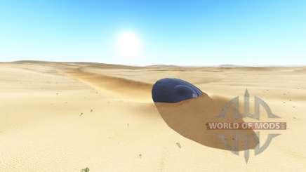 Ghosts desert v2.0.2 для BeamNG Drive