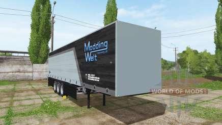 Schmitz Cargobull Modding Welt v1.2 для Farming Simulator 2017