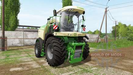 Krone BiG X 580 dynamic hoses для Farming Simulator 2017