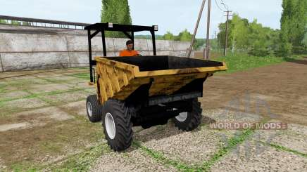 Sambron mini dumper для Farming Simulator 2017