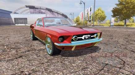Ford Mustang 1965 v2.0 для Farming Simulator 2013